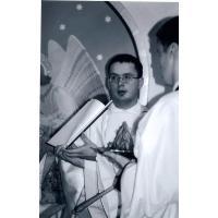 Msza prymicyjna księdza Jana w kościele św. Jerzego w dniu 16 czerwca 2002 r.
