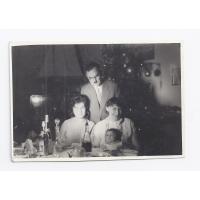 Dziadkowie, Józef i Antonina Kałużni oraz Łucja Kałużna z synem Stefanem, 1963 r.