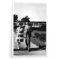 Ryszard i Łucja Kałużni, 1959 r.