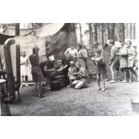 Biwak 11 Drużyny Harcerskiej ZHP, Sopot 1963 r.