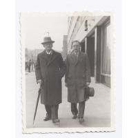 Antonio Wiatrak z synem Aleksandrem