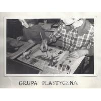 Grupa Plastyczna z  SP 1, Sopot 1966 r.