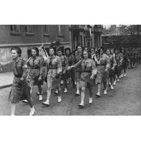 Harcerze na ul. Podjazd, Sopot 1948 r.jpg