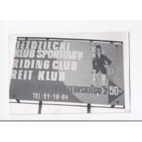 Szyld Jeździeckiego Klubu Sportowego w Sopocie, lata 60. XX w.