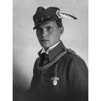Portret ojca Iwony Ledwożyw.
