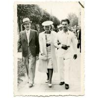 Rodzice Iwony Ledwożyw.