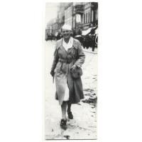 Izabela Stern (z domu Roth) - naczelniczka I Dzielnicy Pomorskiej Towarzystwa Gimnastycznego Sokół, Poznań 1938 r.