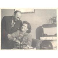 Jadwiga i Wacław Karczewscy, Sopot 1949