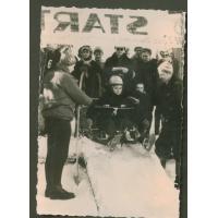 Zawody saneczkowe w Sopocie, lata 60. XX w.