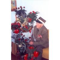 Michał Olichwier w dniu setnych urodzin, Sopot, 18.11.2001 r.
