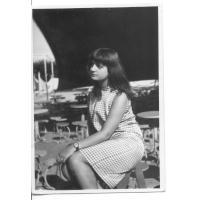 Monika Sienkiewicz w sopockim Non-Stopie, ok. 1964 r.