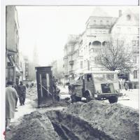 Remont ul. Bohaterów Monte Cassino, lata 60. XX w