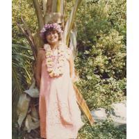 Roswita Stern na Hawajach w Honolulu, 1977 r.