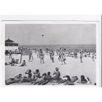 Treningi siatkówki na plaży, Sopot 1952 r.