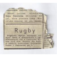Wycinek gazety z błędnym zapisem nazwiska Waldemara Zajczonko