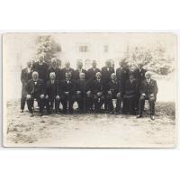 Delegacja Zarządu Towarzystw Ludowych Wolnego Miasta Gdańska na zjeździe Towarzystw Ludowych w Pelplinie, 1931 r. Walentyna Kurpisz-Roth siedzi druga z lewej.
