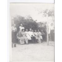 Sąsiedzi z ul. Kraszewskiego, Sopot ok. 1950 r.
