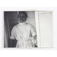 Franciszka, mama Wirginii,  koniec lat 50. XX w.