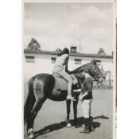 Wojciech Kowerski jako instruktor jazdy konnej, Sopot lata 70 XX w.