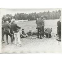 Podkuwanie konia, Sopot 1979 r.