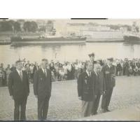 Książę Filip na Westerplatte, 1975 r.