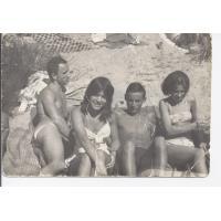 Na plaży w Kamiennym Potoku, lata 60. XX w.
