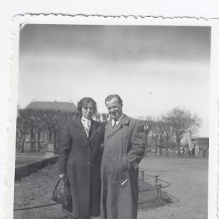Anna Rozwadowska z mężem