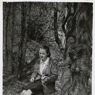 Domicela Wardynszkiewicz, Sopot 1946 r.