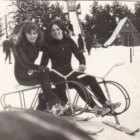 Zofia Hłasko, pierwsza z lewej, Krynica 1972 r
